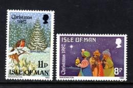 GB ISLE OF MAN IOM - 1982 CHRISTMAS STAMPS SET (2V) FINE MNH ** SG 225-226 - Isle Of Man