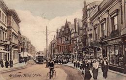 Royaume-uni,united Kingdom,angleterre,Berkshire,reading,KING STREET,road,1900 - Reading