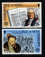 GB ISLE OF MAN IOM - 1982 EURPOA SET (2V) FINE MNH ** SG 216-217 - 1982