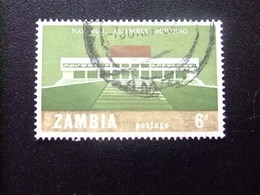 ZAMBIA Zambie 1967 Palacio Nacional Yvert N 31 FU - Zambia (1965-...)