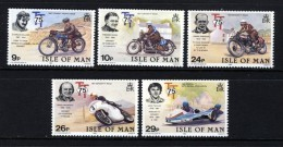 GB ISLE OF MAN IOM - 1982 TT ANNIVERSARY SET (5V) FINE MNH ** SG 218-222 - Isle Of Man