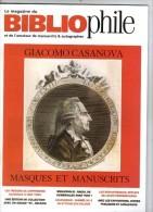 Le Magazine Du BIBLIOPHILE Et De L'amateur De Manuscrits & Autographes , CASANOVA , N° 99 , Frais Fr : 3.50€ - Libros, Revistas, Cómics