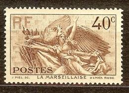 EXTRA LA MARSEILLAISE YT N°315 NEUF Avec GOMME** Cote 13 Euro - Nuovi