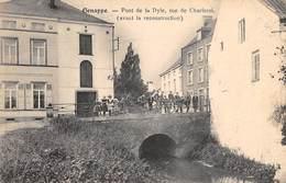 CPA -  Belgique, GENAPPE, Pont De La Dyle, Rue De Charleroi, ( Avant La Reconstruction ) - Genappe
