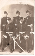 Carte Photo Militaire - Garde Républicaine à Cheval Gendarme - M Mme Boisseaux Valbert Grandvelle Maizieres Haute Saône - Regiments