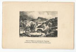 84 Vaucluse - Pont Et Usine  Estampe Musée De Pétrarque - Frankrijk