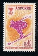 ANDORRE Y&Tn° 187 - 1968 - Jeux Olympiques De Grenoble - NEUF Sans Charnière - Frans-Andorra