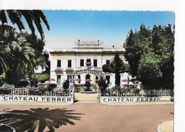 2 Cpsm Gd Modèle. Nice : Hôtel Château Ferber - Cafés, Hôtels, Restaurants