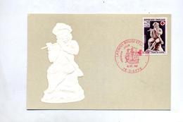 Vcarte Maximum 1967 Dieppe Croix Rouge - Cartes-Maximum
