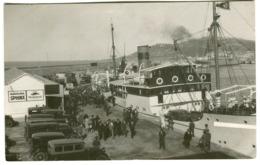 Foto Animación Coches Ferri Gasolina Sphinx Mobiloil Marca Ambulante AMB. MARITIMO Ceuta-Algeciras 1934 - Ceuta