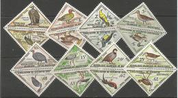 Mauritania - 1963 Birds Pairs Dues  MNH **     Mi P26-41  Sc J26-41 - Mauritania (1960-...)