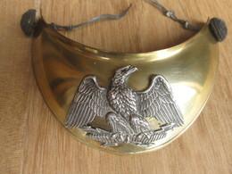 INSIGNE MILITAIRE PLAQUE DE COL 1939 1945 AIGLE ALLEMAND - Armée De Terre