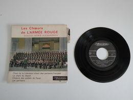 Choeurs De L'Armée Rouge - Le Chant Du Départ, Chant De La Libération - Les Partisans - Vinyle 45T -Visadisc - World Music