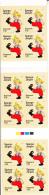Denmark MNH Scott #1484a Booklet Of 12 Perf 13.5 5.50k Sporge-Jorgen - EUROPA - Danemark