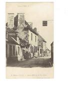 Cpa - 03 - Cosne D'Oeil - Route De Cérilly - Ancien Hotel De La Tête Noire - HOTEL PHILIPON Enseigne - Altri Comuni