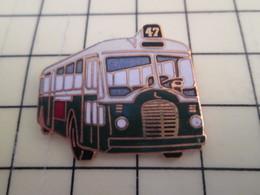 Pin113b Pin's Pins / Beau Et Rare / THEME : TRANSPORTS / BUS AUTOBUS RATP LIGNE 47 Par TABLO PARIS - Transportation