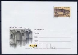 Bulgaria/ Bulgarie - Europa Cept 2018 Year - Post Cover - 2018