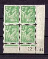 COIN DATE N* 649 (22.9.44) NEUF** - Ecken (Datum)