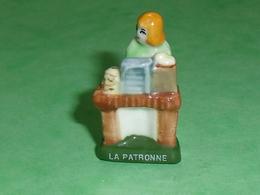 Fèves / Personnages / Métiers : La Patronne  TB113V - Characters