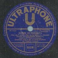 """78 Tours - CONCHITA SUPERVIA  - ULTRAPHONE 1020  """" ENTREE DE FRASQUITA """" + """" CE QUE C'EST QUE L'AMOUR """" - 78 Rpm - Gramophone Records"""