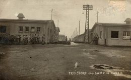 ALLEMAGNE CARTE PHOTO TROISDORF CAMP DE SAVOIE - Troisdorf