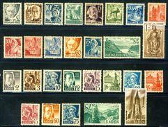 1947 Baden & Rheinland Pfalz 2 Complete MH OG Sets - French Zone