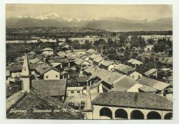 LAGNASCO PANORAMA CON M.VISO   VIAGGIATA FG - Imperia