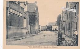 POIX DU NORD - Dépt 59 - Cyclistes Rue Saint Martin - CPA - - France