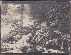 PHOTO---GUIDES DES PYRENEES  Probablement---( Dans La Montagne )( Béret Blanc)--voir  2 Scans - Métiers