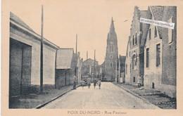POIX DU NORD - Dépt 59 - Rue Pasteur - Petite Animation  - CPA - France