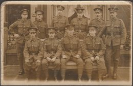 Medics Of The Royal Army Medical Corps, C.1915 - RP Postcard - Regiments