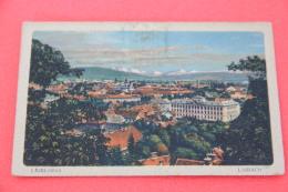 Slovenia Slovenija Ljubljana Lubiana 1919 - Slovénie