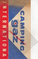 CHAPEAU PUBLICITAIRE CAMPING GAZ INTERNATIONAL- PUBLICITE PAPIER - TOUR DE FRANCE CYCLISME - Publicités
