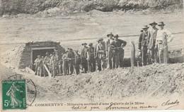 03 Commentry Mineurs Sortant D'une Galerie De La Mine TBE - Commentry