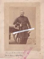 GUERRE  De 1870 - Très Rare Photo Du Général MOULARD Frère De Mme Alfred DROZ - Guerra, Militares