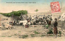 Carte Postale Ancienne .SYRIE: Promenade De Heden Monts Liban Tripoli - Cartoline