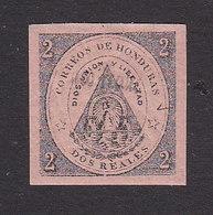 Honduras, Scott #16?, Mint Hinged, Coat Of Arms, Issued 1877 - Honduras