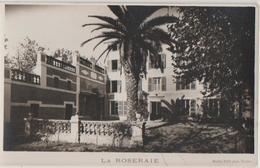 CPA 83 TOULON Maison LA ROSERAIE Hôtel Pension Et Son Jardin Real Photo - Toulon