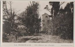 CPA 83 TOULON Maison LA ROSERAIE Pension Hôtel Un Coin Du Parc Real Photo - Toulon