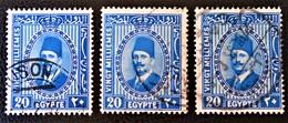 ROYAUME - ROI FOUAD 1ER 1927/32 - OBLITERES - YT 125A - Egypt