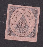 Honduras, Scott #2, Mint Hinged, Coat Of Arms, Issued 1865 - Honduras