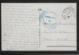 Tunisie Marcophilie - Cachet Militaire - Carte Postale - Lettres & Documents