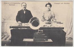 Karlstad Ester O. J.O. Karlström Glasspel Och Merofon - Suède