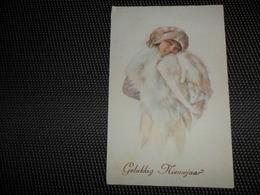 Femme ( 490 )  Vrouw  Illustrateur Pas Signée - 1900-1949