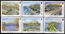 Guernsey - 2018 - Europa CEPT - Bridges - Mint Stamp Set - Guernsey