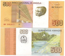 Angola - 500 Kwanzas 2012 / 2017 UNC Ukr-OP - Angola
