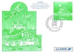 Documents De La Poste Souvenir Philatélique Du 4/12/1998 à Perigueux  (1) - LE MONT-SAINT-MICHEL *PRIX FIXE - Documents De La Poste