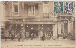 12. VILLEFRANCHE DE ROUERGUE.  LES GALERIES MODERNES - Villefranche De Rouergue