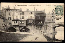 Lot De 2 CP  - PONT A MOUSSON - Vieilles Maisons Du Pont - Boulevard De Riolles - Pont A Mousson