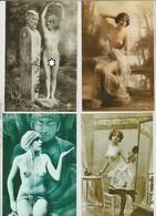 Photo Ancienne - Reproduction - Nu Artistique -  152X113 -  44 Vues - Reproductions
